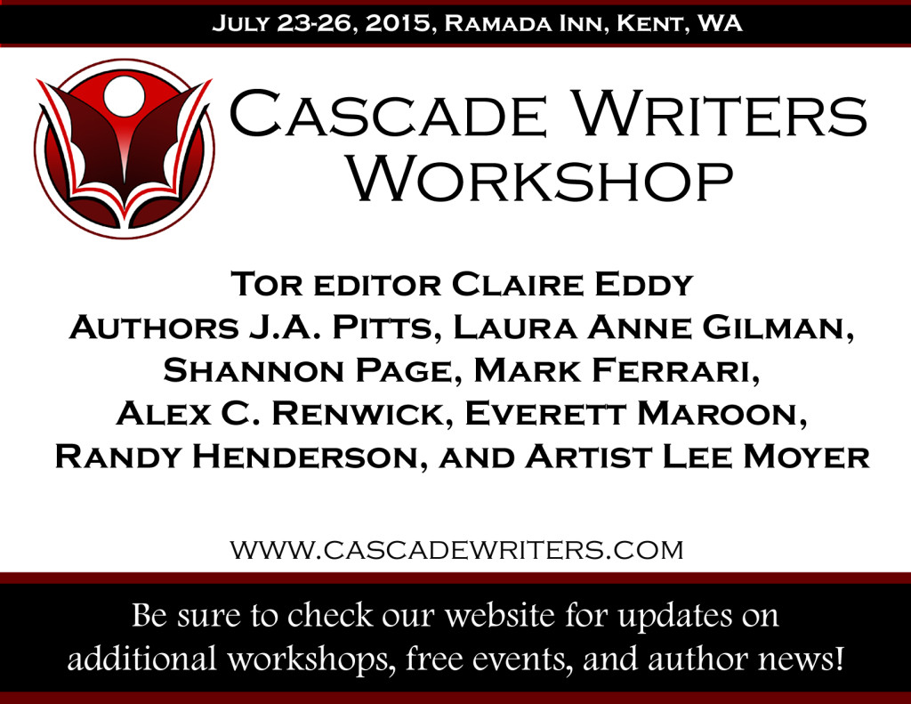 July 22-26, 2015 Workshop in Kent, WA.